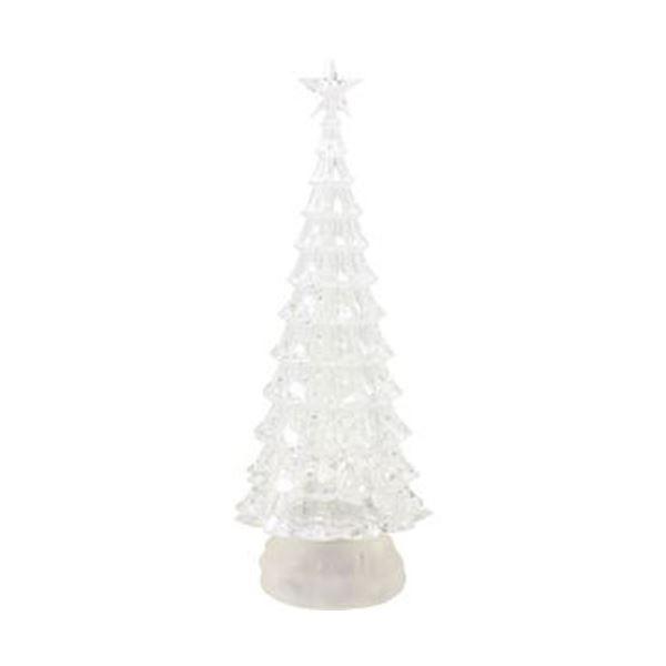 【送料無料】(まとめ)函館クリスマスファクトリーバブルLEDクリアツリー スター L 1個【×3セット】