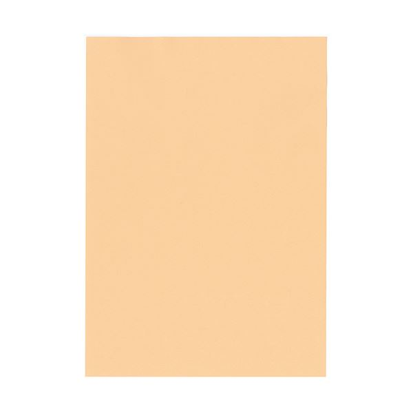 【送料無料】(まとめ)北越コーポレーション 紀州の色上質A3Y目 薄口 びわ 1冊(500枚)【×3セット】