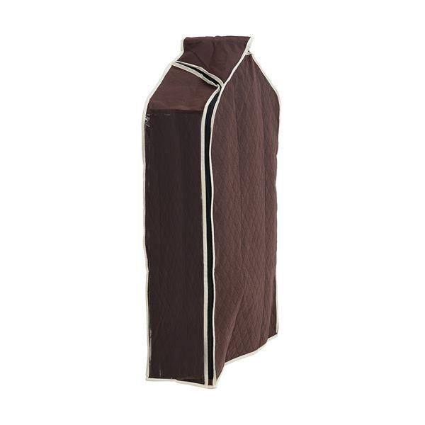 【送料無料】(まとめ)洋服カバー パッと見える 炭入り消臭 衣類カバー ショート 【×26個セット】