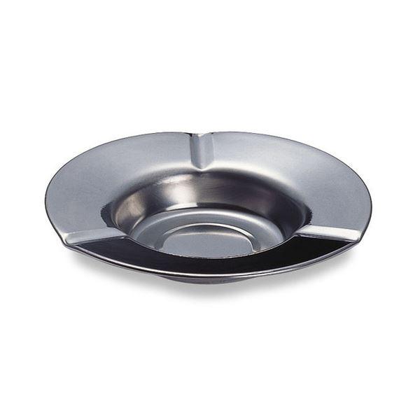 【送料無料】(まとめ) テラモト ステンレス 卓上灰皿 1個 【×30セット】