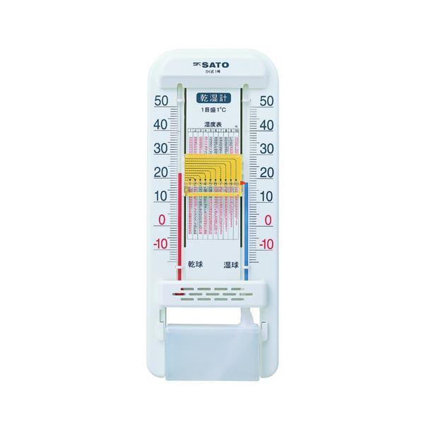【送料無料】(まとめ) 佐藤計量器 乾湿計 SK式1号【×10セット】