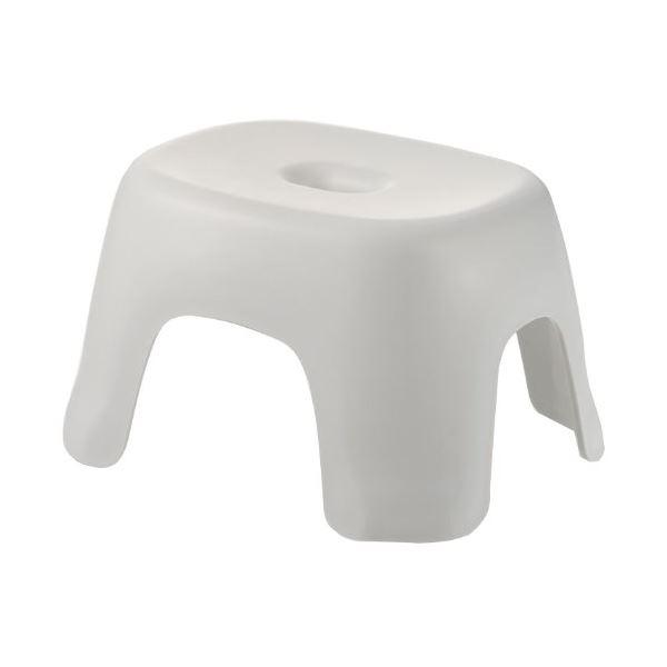 【送料無料】(まとめ) 風呂椅子/バスチェア 【ホワイト】 ローチェアタイプ 4本脚 腰掛けTL 『ハユール』 【×20個セット】