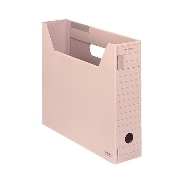 【送料無料】(まとめ) コクヨファイルボックス-FS(Fタイプ) A4ヨコ 背幅75mm ピンク A4-SFFN-P 1セット(5冊) 【×10セット】