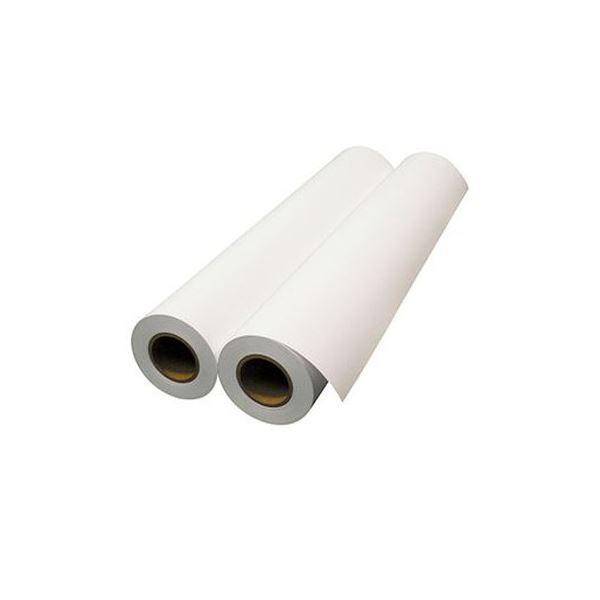 (まとめ)エプソン 普通紙ロール(薄手)24インチロール 610mm×50m 2インチ紙管 EPPP6424 1箱(2本)【×3セット】