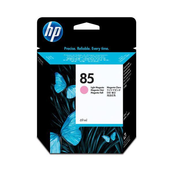 (まとめ) HP85 インクカートリッジ ライトマゼンタ 69ml 染料系 C9429A 1個 【×10セット】