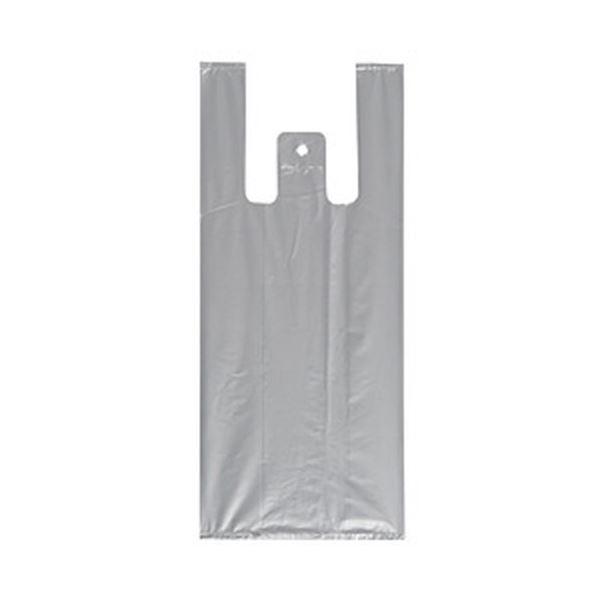レジ袋(シルバー) 1パック/100枚 S 1箱(80パック)