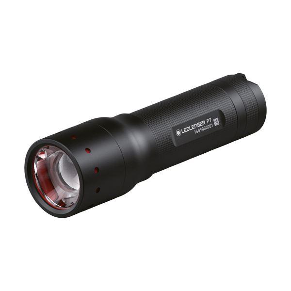 【送料無料】(まとめ)LED LENSER フラッシュライトレッドレンザー P7 501046 1個【×3セット】