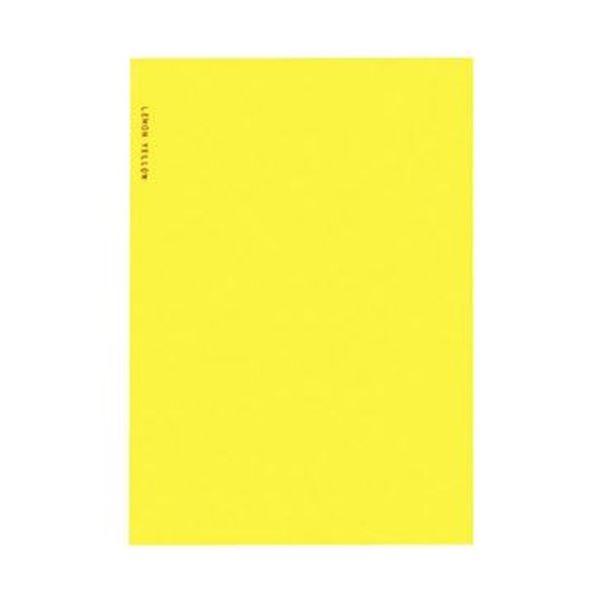 【送料無料】(まとめ)コクヨ スリムアルバム 固定式 A5変形台紙10枚 レモン イエロー ア-SL60-3 1セット(5冊)【×10セット】