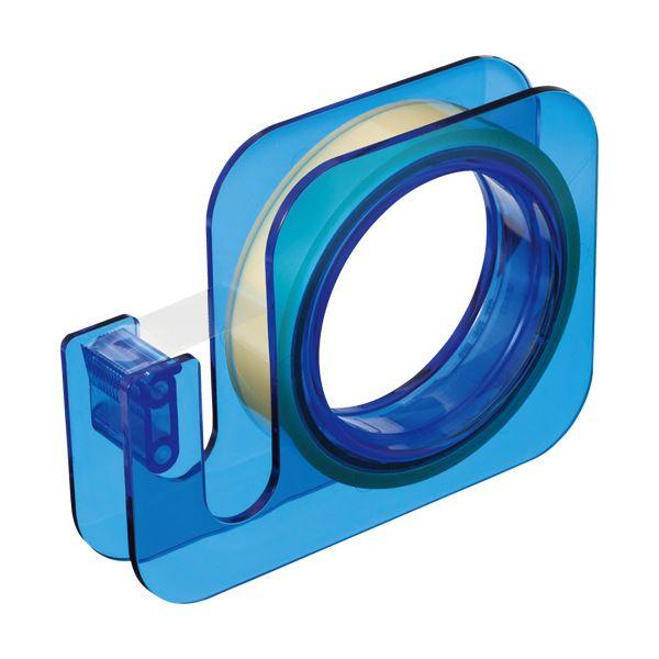 【送料無料】(まとめ) ニチバン セロテープ 大巻ハンドカッター 18mm×20m ブルー TC-18E4 1個 【×30セット】