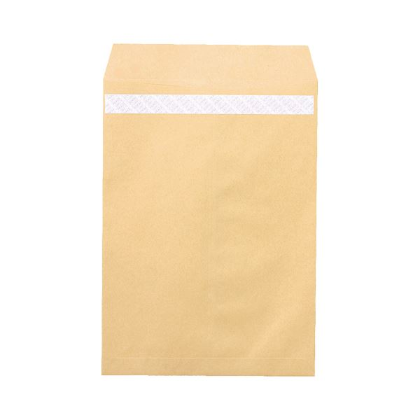 【送料無料】(まとめ)ピース R40再生紙クラフト封筒テープのり付 角2 85g/m2 業務用パック 697 1箱(500枚)【×3セット】