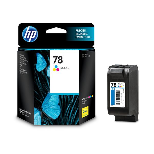 【送料無料】(まとめ) HP78 プリントカートリッジ カラー C6578DA#003 1個 【×10セット】
