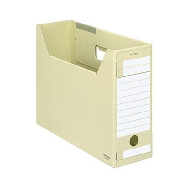 【送料無料】(まとめ)コクヨ ファイルボックス-FS(Eタイプ)(A4ジャスボックス)A4ヨコ 背幅102mm 黄 A4-LFE-Y 1セット(5冊)【×10セット】
