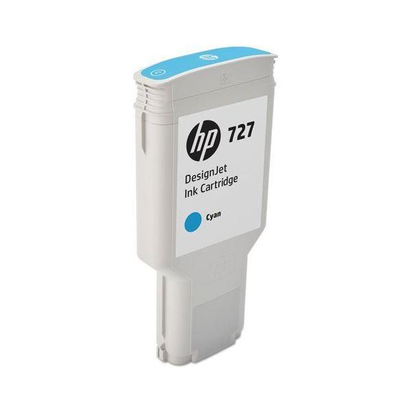 【送料無料】HP HP727 インクカートリッジシアン 300ml F9J76A 1個