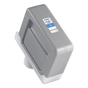 (まとめ) キヤノン Canon インクタンク PFI-307C 染料シアンインク 330ml 9812B001 1個 【×3セット】