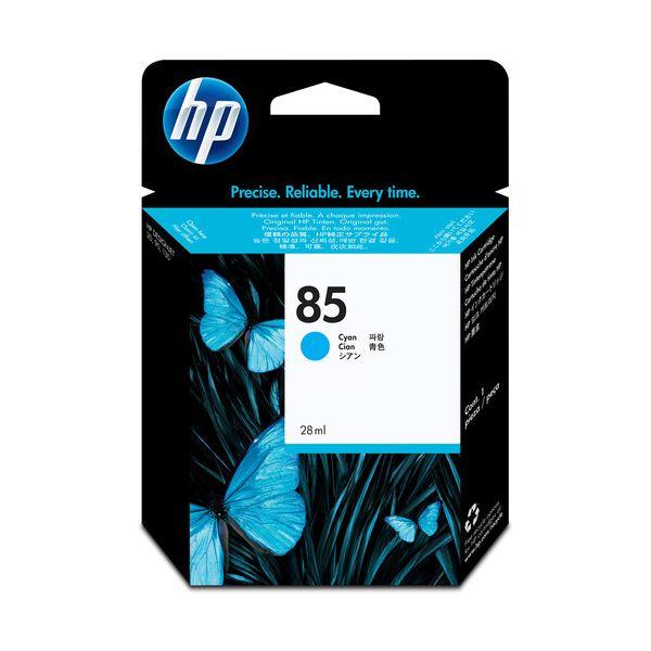 【送料無料】(まとめ) HP85 インクカートリッジ シアン 28ml 染料系 C9425A 1個 【×10セット】