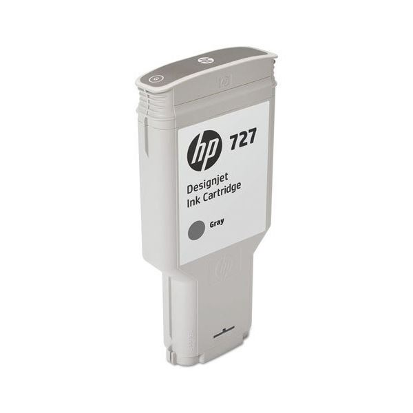 HP HP727 インクカートリッジグレー 300ml F9J80A 1個