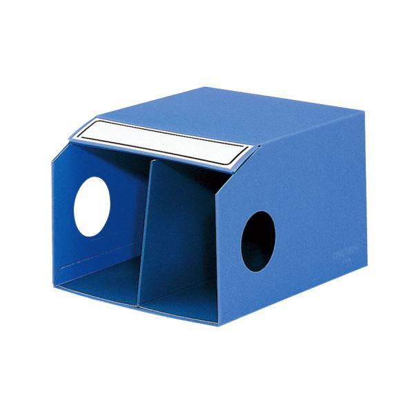 【送料無料】コクヨ 統一伝票用ファイルボックス B41/3横仕切板付 フ-459NB 1セット(10冊)