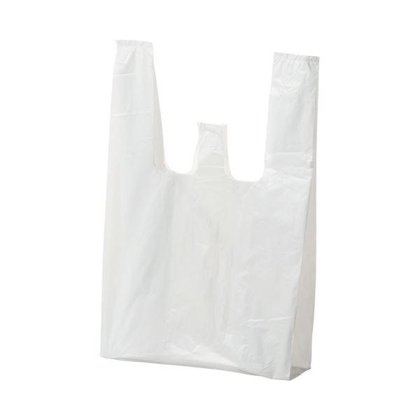 【送料無料】(まとめ) ジャパックス ランチバッグ エコタイプ小 乳白 RBF12 1パック(100枚) 【×50セット】