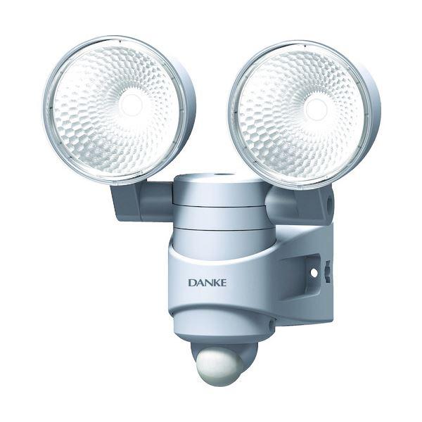 【送料無料】ムサシ ダンケ 7W×2灯LEDセンサーライト E40314 1台