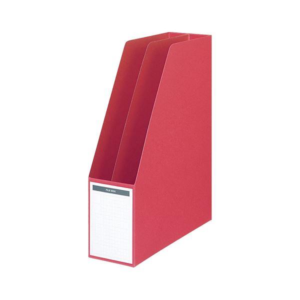 【送料無料】コクヨ ファイルボックス A4タテ背幅85mm 赤 フ-450NR 1セット(10冊)
