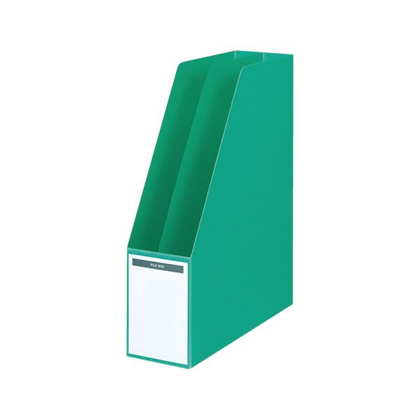 【送料無料】コクヨ ファイルボックス A4タテ背幅85mm 緑 フ-450NG 1セット(10冊)