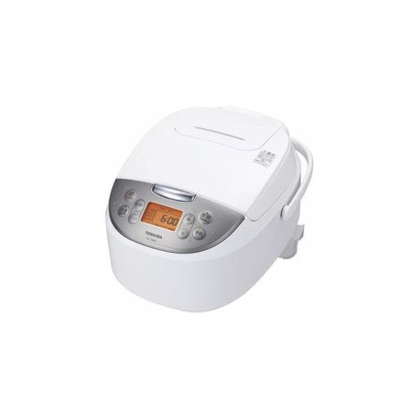 セールSALE%OFF 高級品 マイコンジャー炊飯器 5.5合 ホワイト RC-10MSL-W TOSHIBA 送料無料