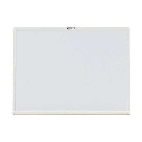 TRUSCO スチール製ホワイトボード450×600 板面:白 枠色:ホワイト WGH-132S-W 1枚