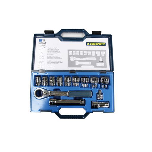 【送料無料】SIGNET(シグネット) 20545 13PC ボルテックスソケットセット(差込角30MM)