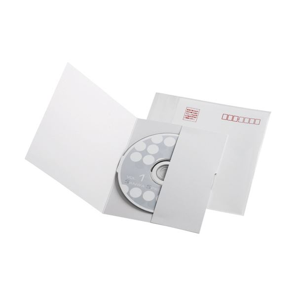 【送料無料】(まとめ) サンワサプライ 郵送メールケースポケットタイプ 1枚収納 FCD-DM5 1パック(10枚) 【×10セット】