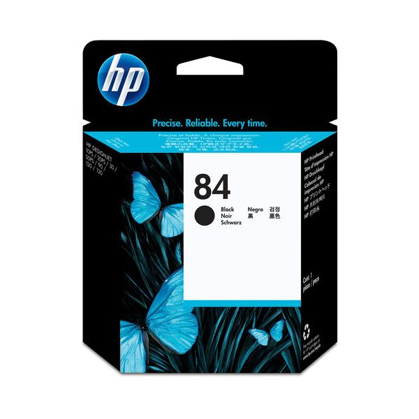 【送料無料】(まとめ) HP84 プリントヘッド 黒 C5019A 1個 【×10セット】