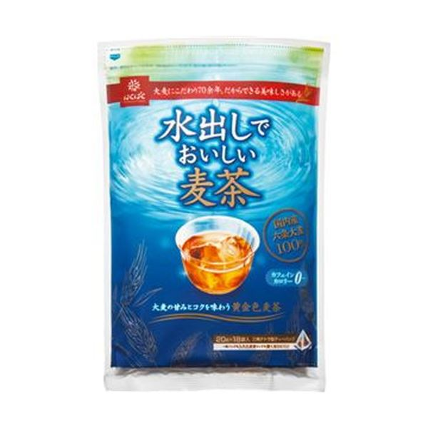 【送料無料】(まとめ)はくばく 水出しでおいしい麦茶 20g 1袋(18バッグ)【×50セット】