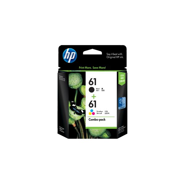 【送料無料】(まとめ) HP HP61 インクカートリッジ黒・カラー CR311AA 1箱(2個:各色1個) 【×5セット】
