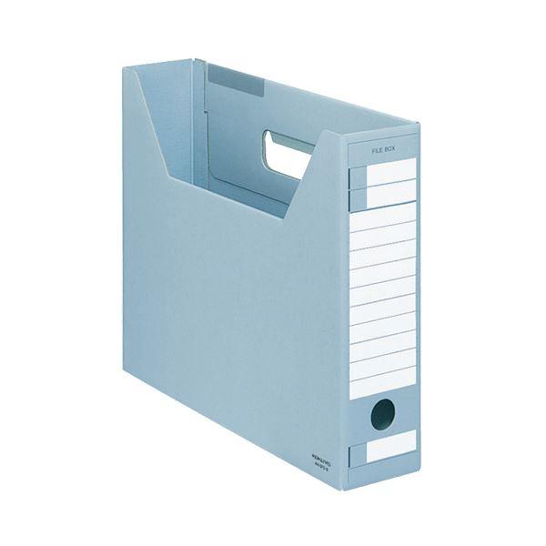 (まとめ) コクヨ ファイルボックス-FS(Dタイプ) A4ヨコ 背幅75mm 青 A4-SFD-B 1セット(5冊) 【×10セット】