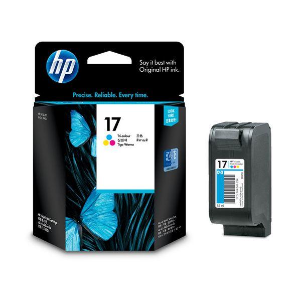 【送料無料】(まとめ) HP17 プリントカートリッジ 3色カラー C6625A 1個 【×10セット】