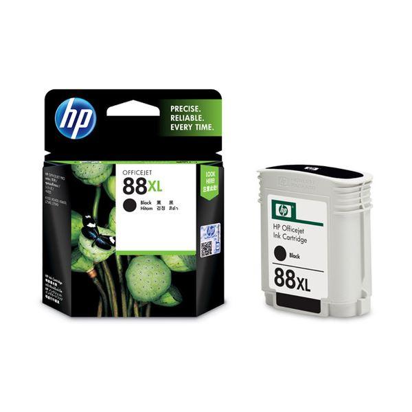 【送料無料】(まとめ) HP88 インクカートリッジ 黒 C9396A 1個 【×10セット】