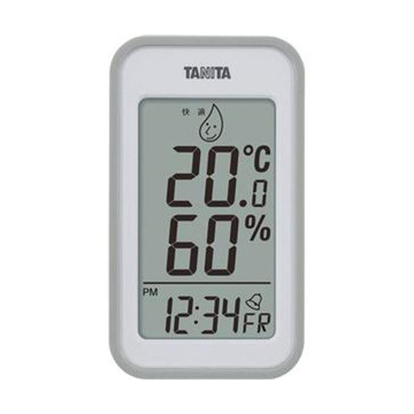 【送料無料】(まとめ)タニタ デジタル温湿度計 グレーTT559GY 1個【×5セット】