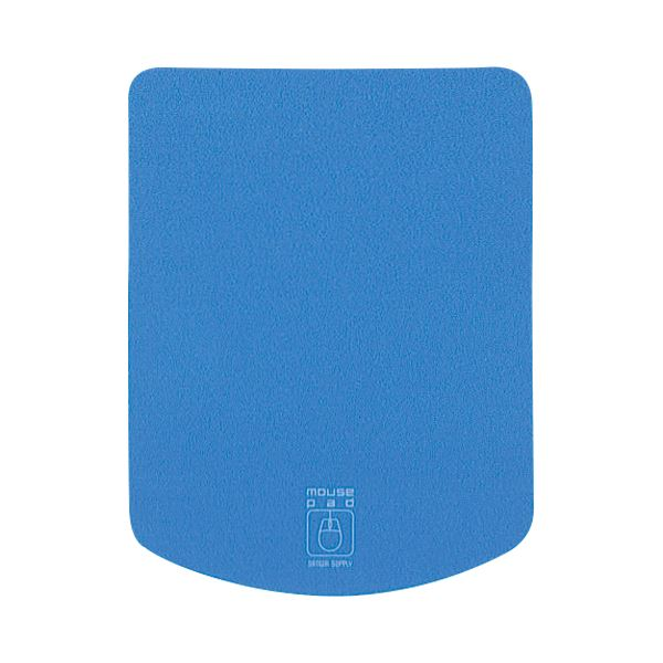 【送料無料】(まとめ) サンワサプライ マウスパッド ブルーMPD-T1BL 1枚 【×30セット】