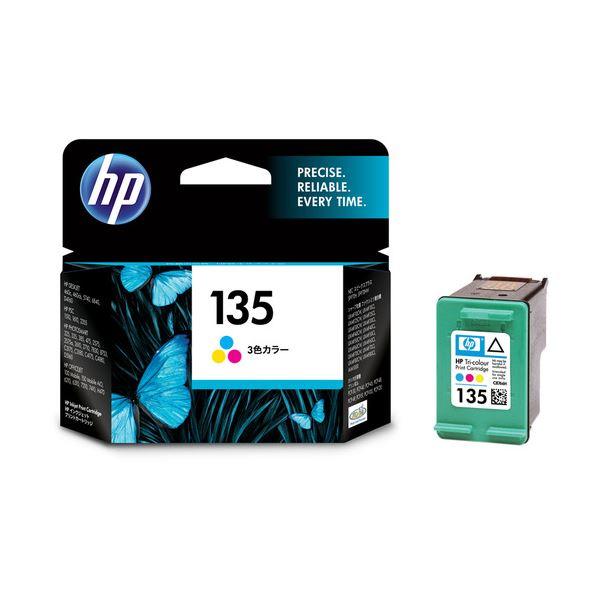 【送料無料】(まとめ) HP135 プリントカートリッジ カラー C8766HJ 1個 【×10セット】