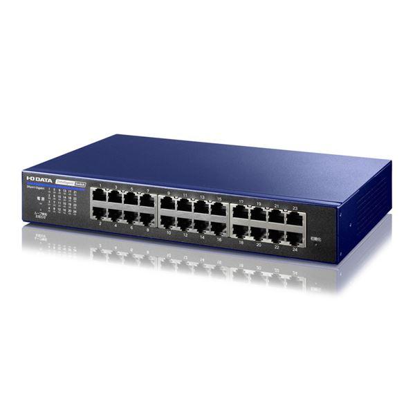 IEEE802.1X認証対応L2インテリジェントスイッチ 24ポート ミレニアム群青