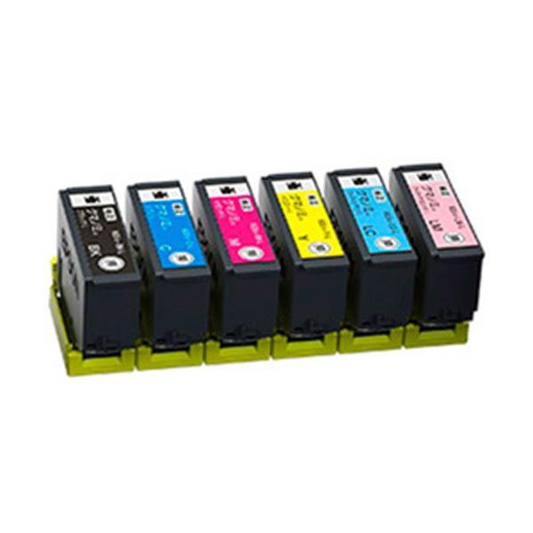 【送料無料】EPSON 純正インクカートリッジ KUI-6CL-L 6色パック(増量) 単位:1箱(6色)
