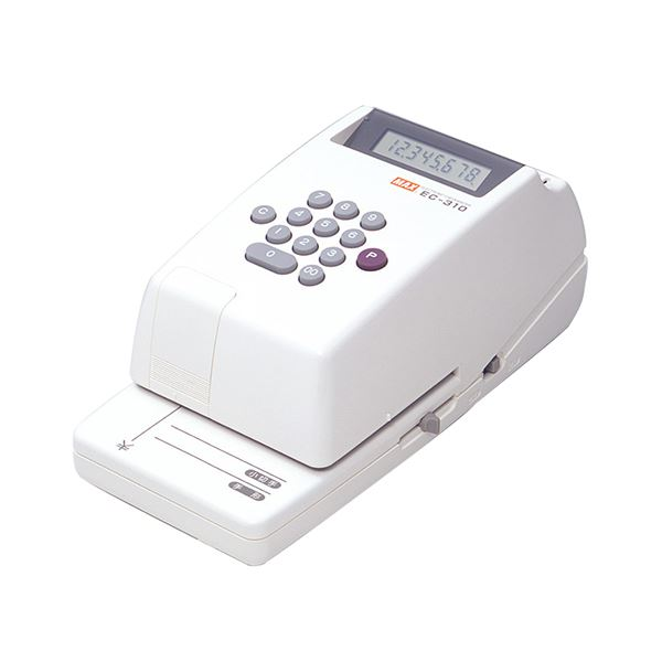 【送料無料】マックス 電子チェックライタ 8桁EC-310 1台