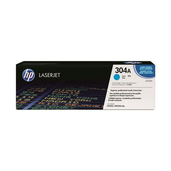 【送料無料】HP プリントカートリッジ シアンCC531A 1個