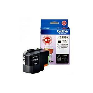 【送料無料】(まとめ) ブラザー インクカートリッジ ブラック大容量 LC219BK 1個 【×5セット】