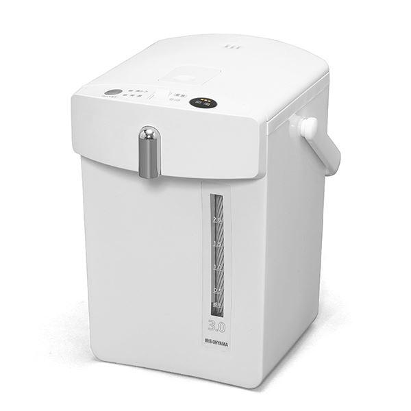 アイリスオーヤマ ジャーポット 3.0L メカ式 ホワイト