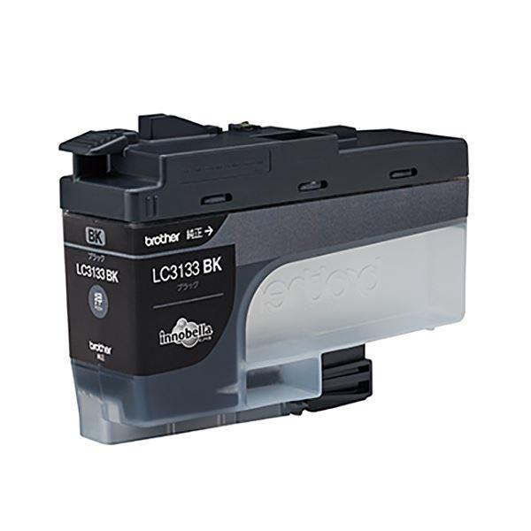 【送料無料】(まとめ) ブラザー インクカートリッジ ブラック大容量 LC3133BK 1個 【×5セット】