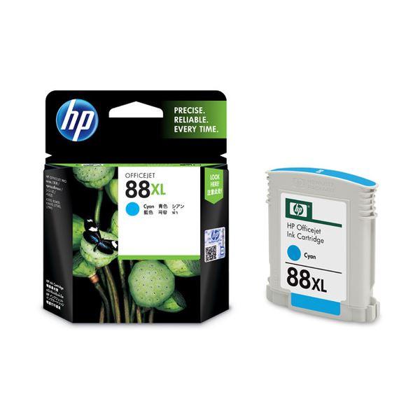 【送料無料】(まとめ) HP88 インクカートリッジ シアン C9391A 1個 【×10セット】