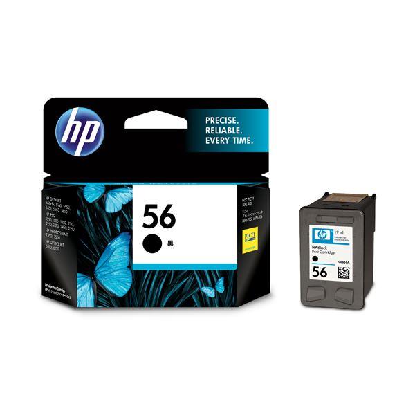 【送料無料】(まとめ) HP56 プリントカートリッジ 黒 C6656AA#003 1個 【×10セット】