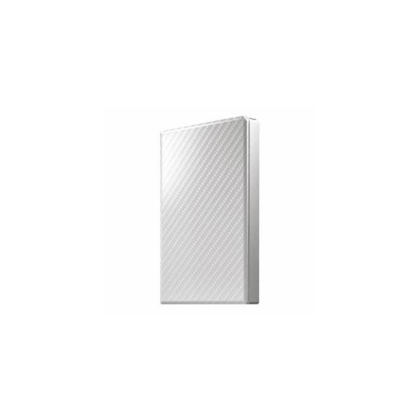 【送料無料】IOデータ USB 3.1 Gen 1対応 ポータブルHDD セラミックホワイト 1TB HDPT-UTS1W