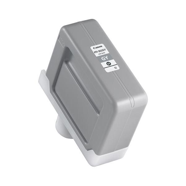 【送料無料】キヤノン インクタンク PFI-302顔料グレー 330ml 2217B001 1個