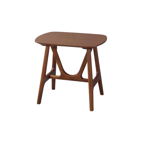 【送料無料】サイドテーブル/ミニテーブル 【幅50×奥行38×高さ48cm】 木製 〔リビング ダイニング ベッドルーム 寝室〕